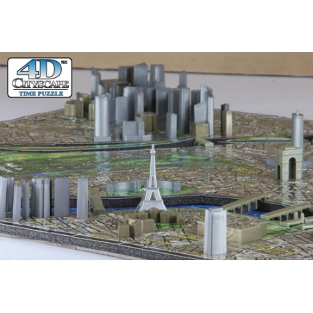 PUZZLE MINI PARIS 4D